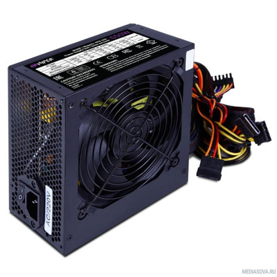 Блок питания HIPER Блок питания HPB-650 (ATX 2.31, 650W, Active PFC, 80Plus BRONZE, 140mm fan, черный) BOX