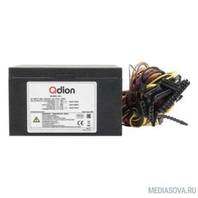 Блок питания FSP 550W ATX Q-Dion QD-550-PNR 80+ 550W, 120mm, 5xSATA, 1xPCI-E, APFC, 80+