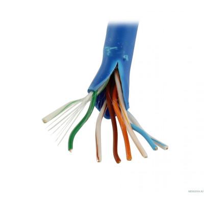 5bites Express US5525-305B(BL) Кабель  UTP / SOLID / 5E / 24AWG / 100% COPPER / PVC / BLUE / 305M