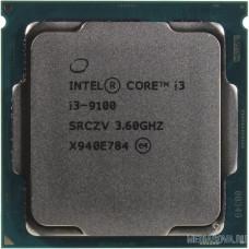 CPU Intel Core i3-9100 Coffee Lake BOX 3.60Ггц, 6МБ, Socket 1151v2