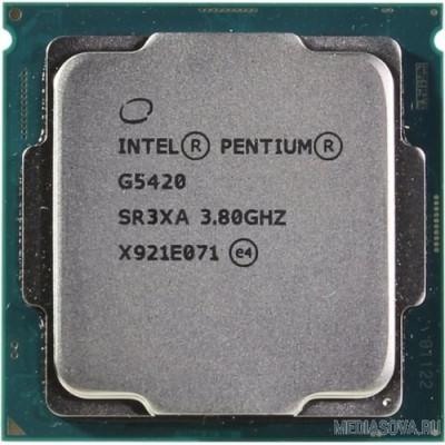Процессор CPU Intel Pentium Gold G5420 Coffee Lake OEM 3.8ГГц, 4МБ, Socket1151v2