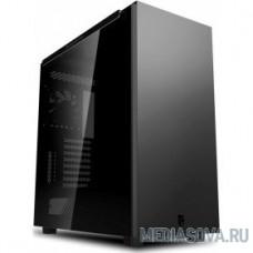 Deepcool MACUBE 550 BK ATX, Black, Боковая панель зак стекло, без БП