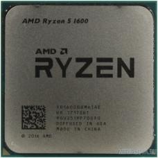 CPU AMD Ryzen 5 1600 BOX 3.2/3.6GHz Boost, 19MB, 65W, AM4 [YD1600BBAFBOX]