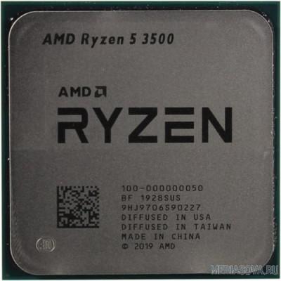 Процессор CPU AMD Ryzen 5 3500 OEM 3.6GHz up to 4.1GHz/6x512Kb+32Mb, 6C/6T, Matisse, 7nm, 65W, unlocked, AM4