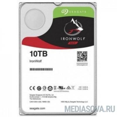 Жесткий диск 10TB Seagate Ironwolf (ST10000VN0008) SATA 6.0Gb/s, 7200 rpm, 256mb buffer, 3.5