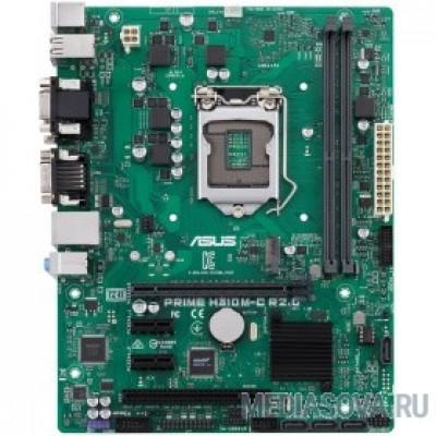 Материнская плата ASUS PRIME H310M-C R2.0/CSM RTL socket LGA1151, Intel H310, 1 слот 16x PCI-E,1x DVI-D, 1x VGA монитор, 2x DDR4