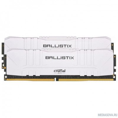 Оперативная память  Crucial DDR4 DIMM 32GB Kit 2x16Gb BL2K16G26C16U4W PC4-21300, 2666MHz, Ballistix RGB