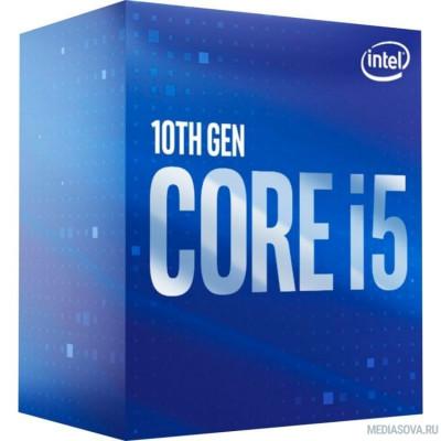 Процессор CPU Intel Core i5-10400F Comet Lake BOX