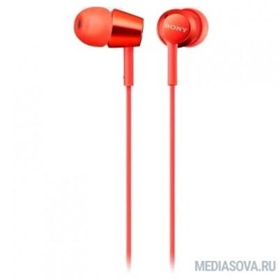 Sony MDREX155R  красный вкладыши