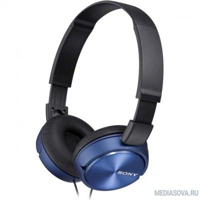 Sony MDR-ZX310/L синий накладные