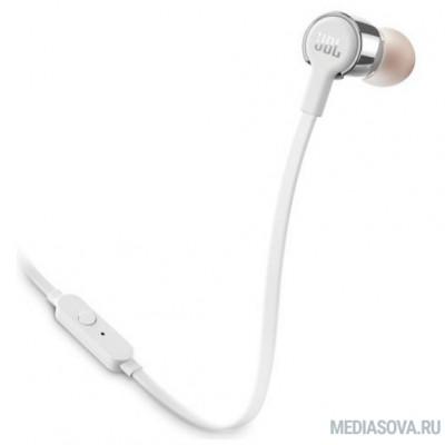 Наушники JBL Гарнитура T210, 16 Ом, 98 dB, серый [JBLT210GRY]