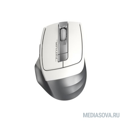 A-4Tech Мышь Fstyler FG35 silver/white optical (2000dpi) cordless USB (6but)  [1192136]