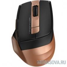 A-4Tech Мышь Fstyler FG35 gold/black optical (2000dpi) cordless USB (6but)  [1192141]