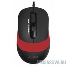 A-4Tech Мышь Fstyler FM10 black/red optical  (1600dpi) USB (4but) [1200652]