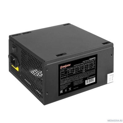 Блок питания Exegate EX282072RUS-S Блок питания 550W ExeGate 550PPE, ATX, SC, black, APFC, 12cm, 24p+(4+4)p PCI-E, 3*IDE, 5*SATA, FDD с защитой от выдергивания