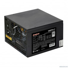 Exegate EX282042RUS-OEM Блок питания 550W Exegate 550PPH-LT-OEM, 80+, ATX, black, APFC, 12cm, 24p, (4+4)p, 5*SATA, 3*IDE