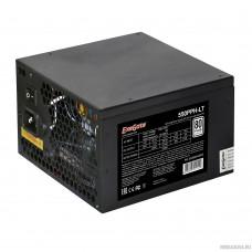 Exegate EX282042RUS Блок питания 550W Exegate 550PPH-LT, RTL, 80+, ATX, black, APFC, 12cm, 24p, (4+4)p, 5*SATA, 3*IDE