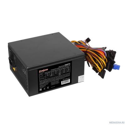 Блок питания Exegate EX282073RUS Блок питания 550W 550PPX RTL, ATX, black, APFC, 14cm, 24p+(4+4)p PCI-E,4*IDE,5*SATA, FDD