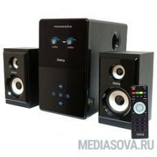 Dialog Progressive AP-220 BLACK 2.1, 30W+2*12W RMS, USB+SD reader