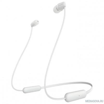 Sony WI-C200W Наушники белый