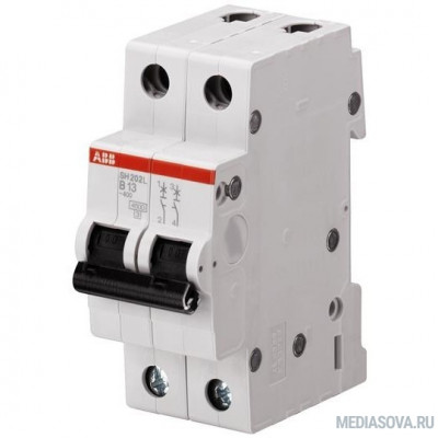 ABB 2CDS242001R0504 Автомат.выкл-ль 2-полюсной SH202L C50