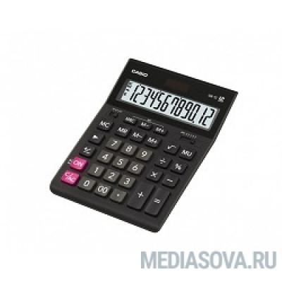 Калькулятор настольный CASIO GR-12(-W-EH) черный Калькулятор 12-разрядный [993127]