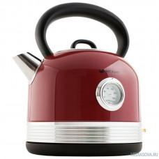 KITFORT KT-634-2 Чайник, Мощность: 1800-2150 Вт.Ёмкость: 1,7 л.Длина шнура: 0,68 м.Красный