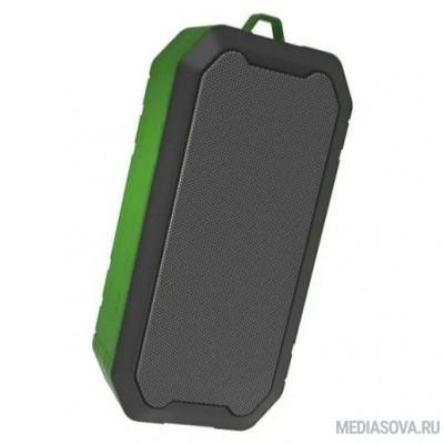 RITMIX SP-350B green 5 Вт, 40 мм 4 Ом, Bluetooth: 4.2, FM-радио, AUX, USB, microSD, IP5, 1200 мАч, microUSB DC 5В 1A, пластик, зеленый