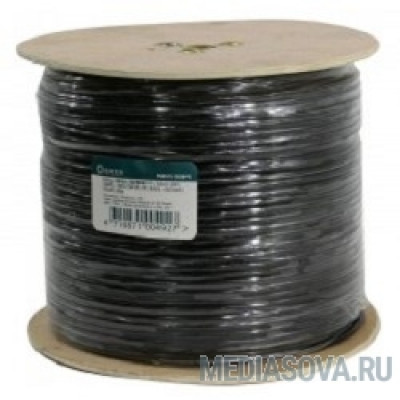 5bites Express FS6575-305BPE FTP/SOLID/6CAT/23AWG/COPPER/PE/BLACK/OUTDOOR/DRUM/305M