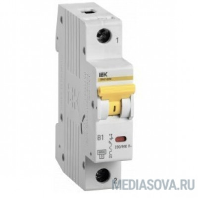 Iek MVA31-1-016-B Выкл. авт. ВА47-60M 1Р 16А 6кА B