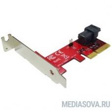 Smartbuy PE-131 Переходник-конвертер для U.2 NVMe SSD в PCIe 4 x4 через miniSAS HD 36P