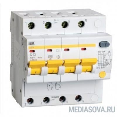Iek MAD10-4-025-C-300 Диф.автомат АД14 4Р 25А 300мА ИЭК