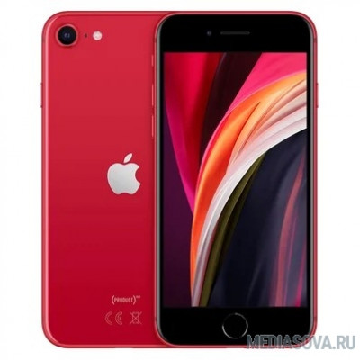 Apple iPhone SE 64GB Red [MHGR3RU/A] (New 2020)