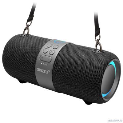 Ginzzu GM-903B, BT-Колонка 28W/3Ah/TWS/IPX6/USB/AUX/FM/RGB