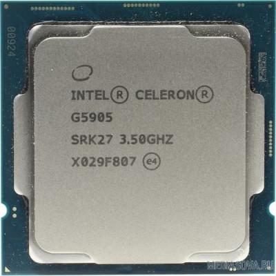 Процессор CPU Intel Celeron G5905 Comet Lake OEM