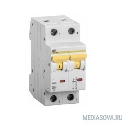 Iek MVA31-2-025-B Выкл. авт. ВА47-60M 2Р 25А 6кА B
