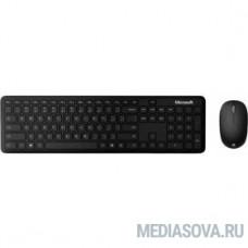 Клавиатура + мышь Microsoft DsktpBndlBiz For Bsnss клав:черный мышь:черный беспроводная BT slim [1AI-00011]
