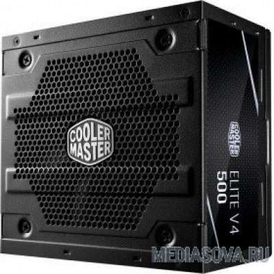 Блок питания Elite V4 500W 230V MPE-5001-ACABN-EU  Elite V4 500W / 230V / 80 Plus 230V EU / ErP 2014 /  120mm fan / EU Cable RTL 5