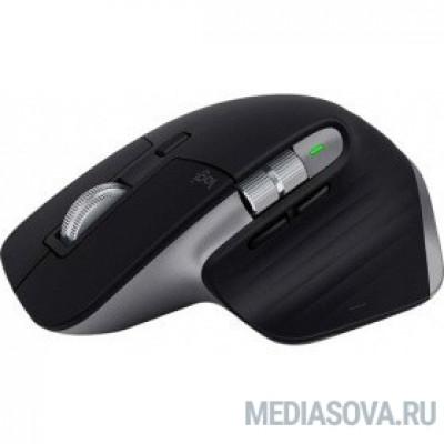 Мышь Logitech MX Master 3 черный оптическая (4000dpi) беспроводная BT USB (6but)