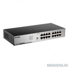 D-Link DGS-1016D/I1A Неуправляемый коммутатор с 16 портами 10/100/1000Base-T
