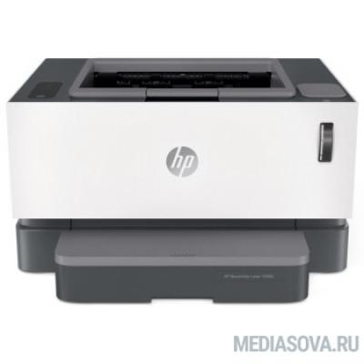 HP Neverstop Laser 1000n (5hg74a) принтер, A4, лазер ч/б, 20 стр/мин, 600х600, 32Мб, AirPrint, USB