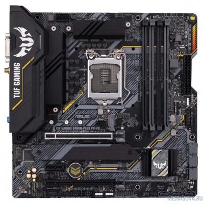 Материнская плата Материнская плата Asus TUF GAMING B460M-PLUS (WI-FI) Soc-1200 Intel B460 4xDDR4 mATX AC`97 8ch(7.1) GbLAN RAID+DVI+HDMI+DP