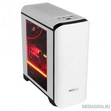 GameMax H602WB без БП Корпус (Midi Tower, ATX, White+Black, Blue Led)