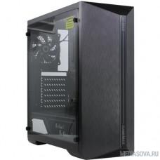 GameMax SHINE MFG.G517 Корпус (ATX, Черн., Зак. стек.,USB3.0, 1*120mm Rainbow вент+контрол..,без БП)