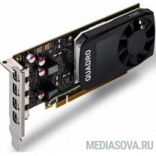 VCQP1000DVIV2BLK-1 QUADRO,P1000V2,4GB,PCIEX16GEN3, ОЕМ 10