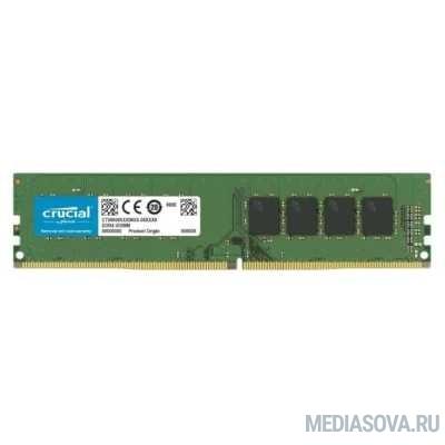 Оперативная память  Crucial DDR4 DIMM 4GB CT4G4DFS6266 PC4-21300, 2666MHz