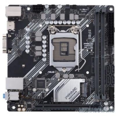 Материнская плата Asus  PRIME H410I-PLUS/CSM Soc-1200 Intel H410 2xDDR4 mini-ITX AC`97 8ch(7.1) GbLAN+VGA+HDMI