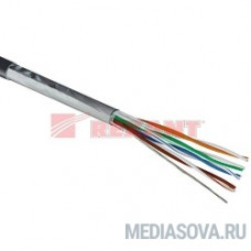 REXANT (01-0145) Кабель FTP CAT5e 4 пары (305м) 0.51 мм STRANDED
