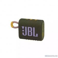 Колонка порт. JBL GO 3 зеленый 4W 1.0 BT (JBLGO3GRN)
