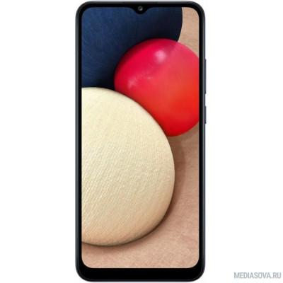 Смартфон Samsung SM-A025F Galaxy A02s 32Gb 3Gb синий моноблок 3G 4G 6.5